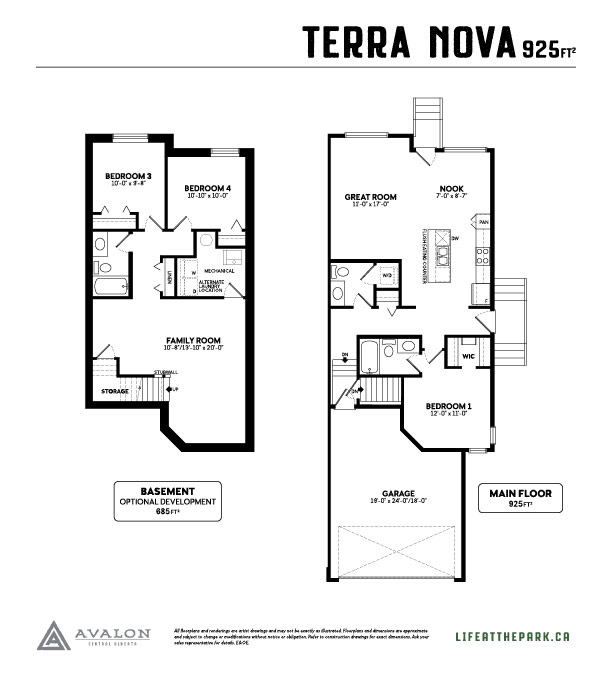The Park at Garden Heights Terra Nova floor plan